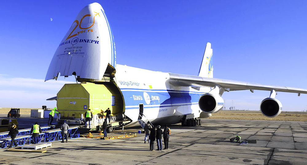 AN 124 - Loading the freight
